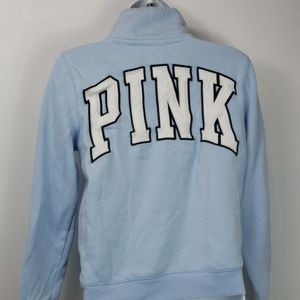 Victorias secret PINK 1/4 zip sweatshirt sz XS